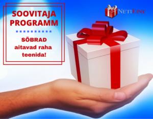 Teeni raha internetis koos NetiKink kingituste e-poega