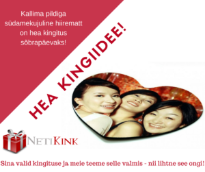 Sõbrapäevaks kingitus NetiKink e-poest