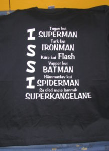 T-särk superman isale