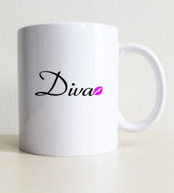 Kas Sina Jooksid Sellisest Kruusist Diva Kiss Coffee Mug College