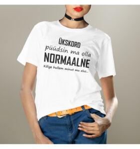Naiste t-särk püüdsin olla NetiKingist