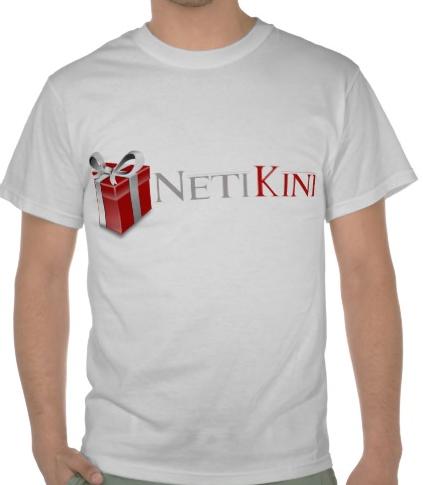 T-särk on praktiline reklaamkingitus NetiKink e-poest