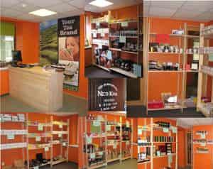 NetiKink kauplus-salong koos Tee- ja kohvipoega